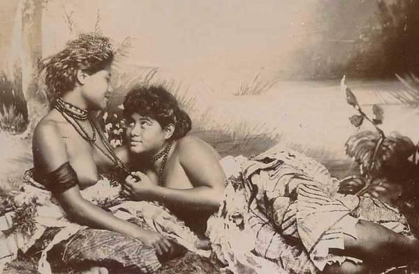 Polynesian Woman Having Sex 84