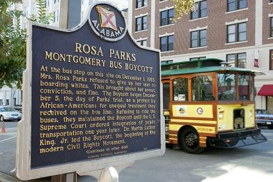 Rosa Parks landmark