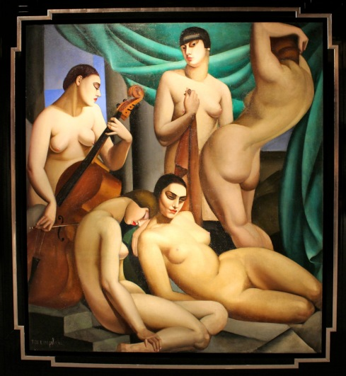 Rhythm by Tamara de Lempicka (1924)