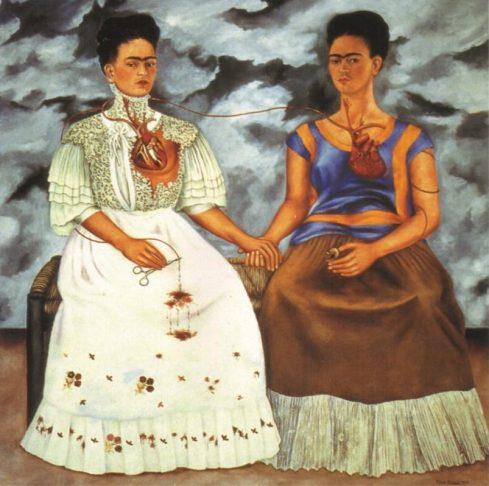 Las Dos Fridas by Frida Kahlo (1939)