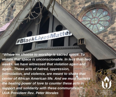 On The Burning of Black Churches