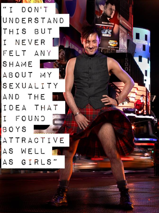 What would be a good event, point in history, etc to write about pertaining to bisexuality?